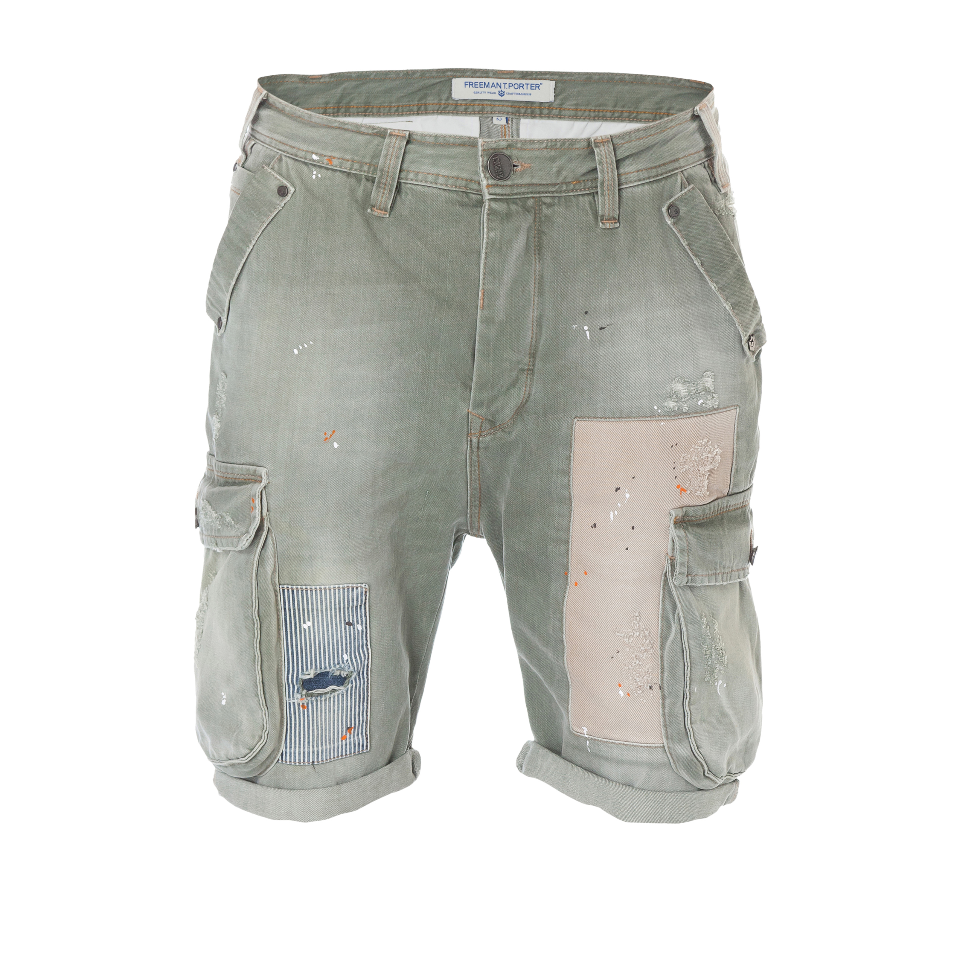 Neue Denim-Shorts im Love, Peace and Festivals-Style von Freeman T. Porter