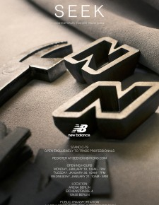 New Balance präsentiert exklusive Capsule Collection auf der SEEK