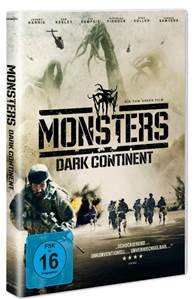 Monsters: Dark Continent - DVD-Start: 11. September 2015