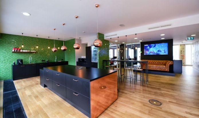 Küche Büro Übergang Myposter