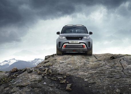 Land Rover Discovery Gelände