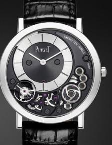 Die flachste mechanische Uhr der Welt!