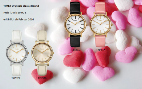 TIMEX® – Uhren zum Valentinstag?