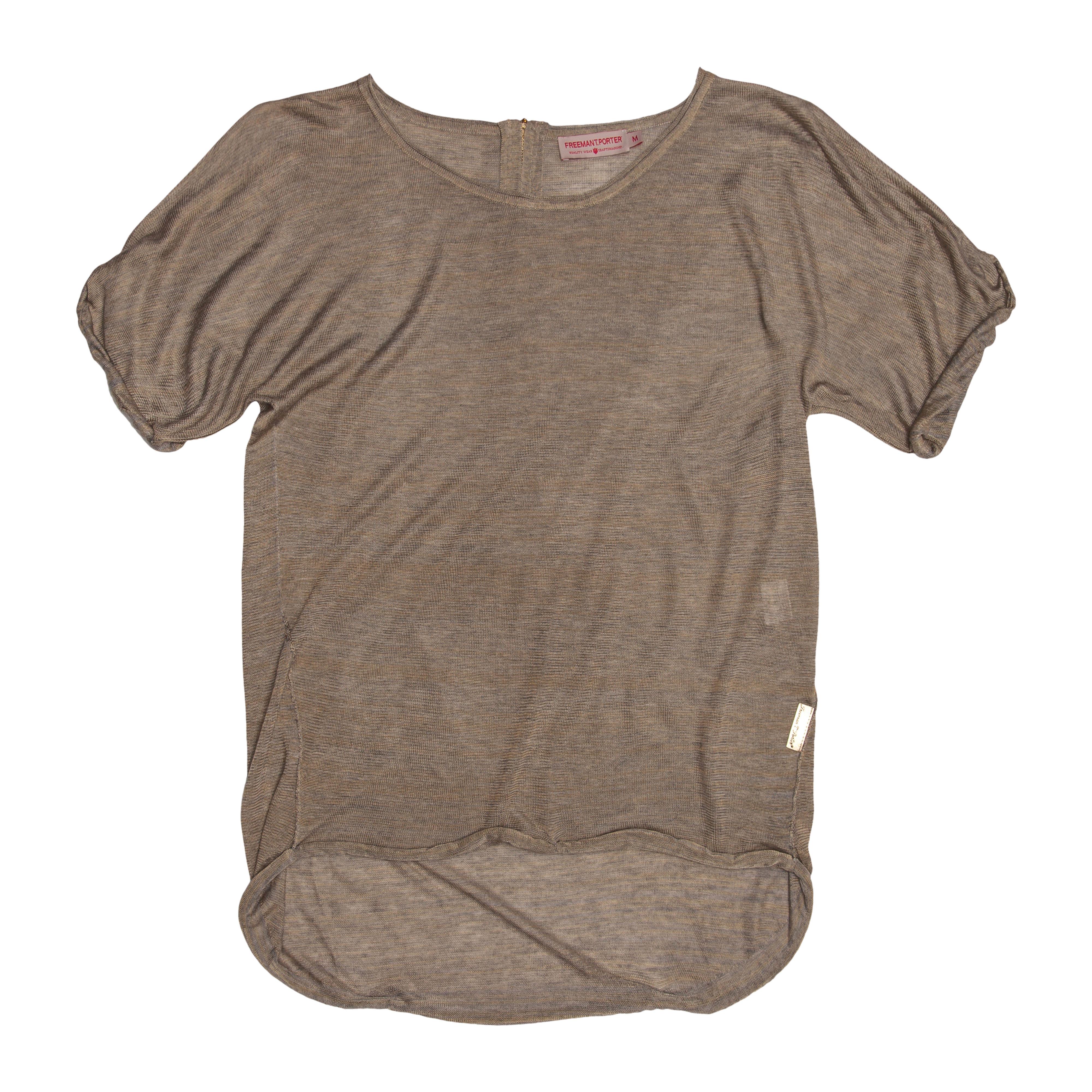 Freeman T. Porter Viskose-Shirt im Love, Peace and Festivals-Look