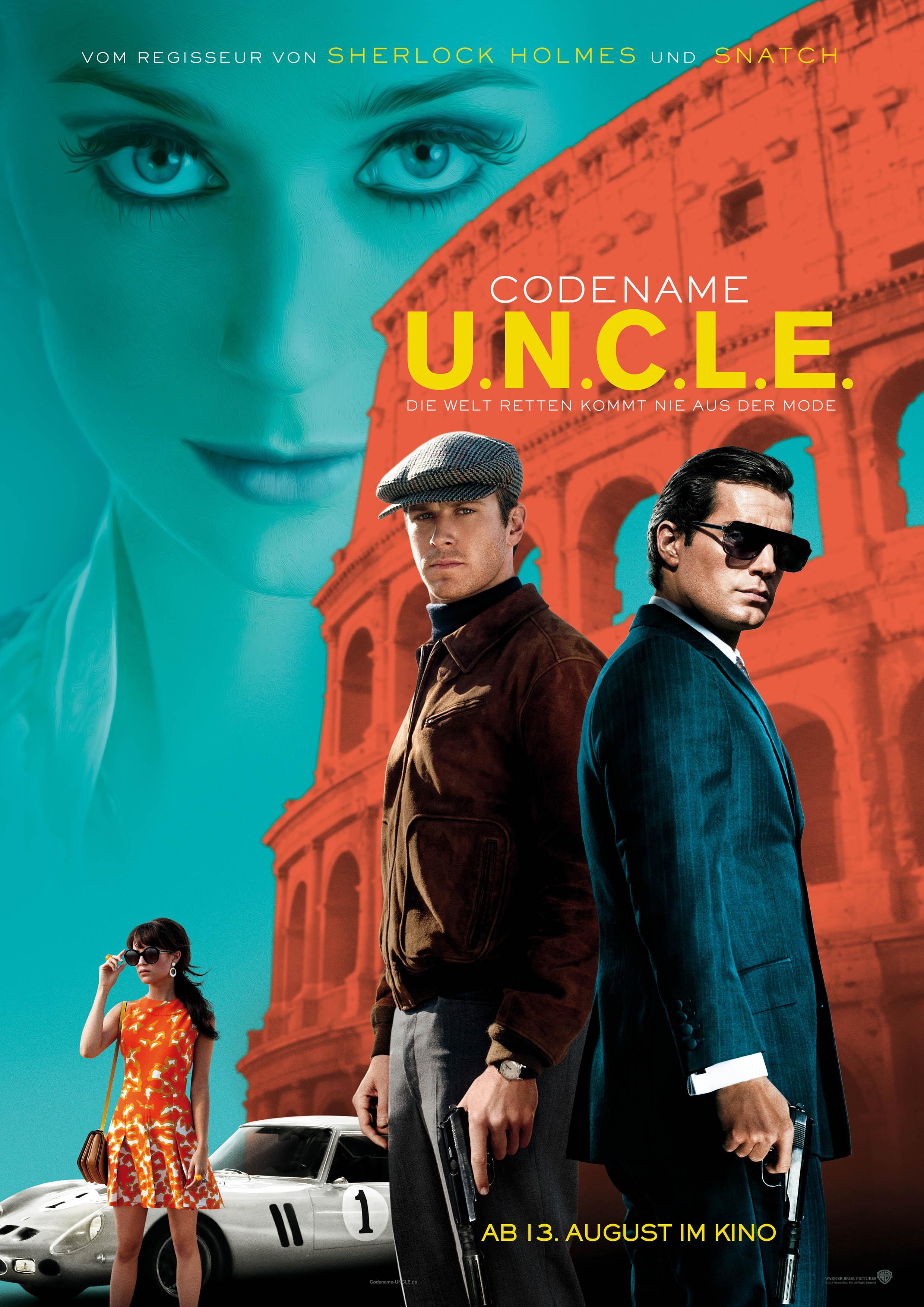 Codename U.N.C.L.E.-ab 13. August im Kino