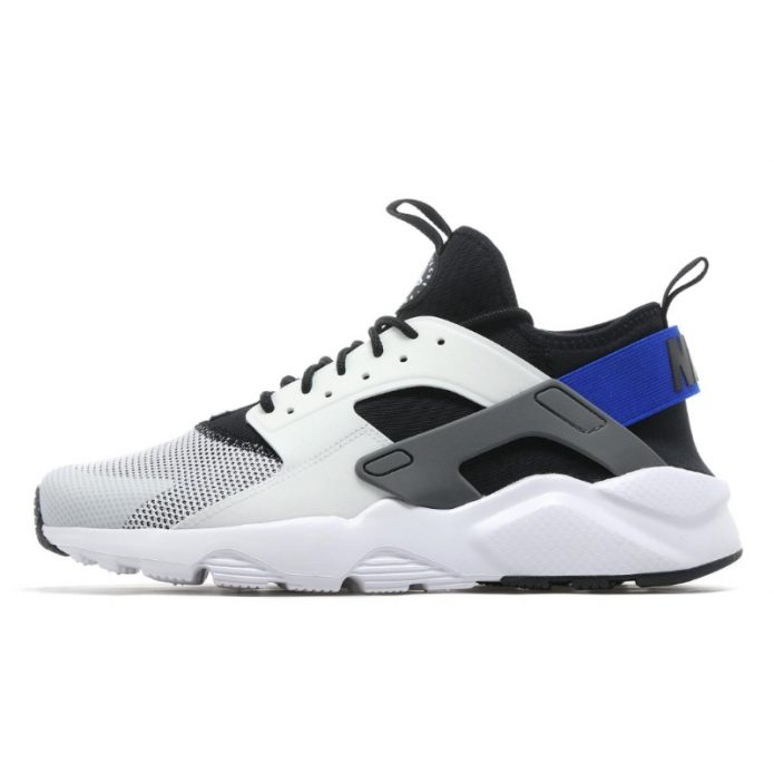 Nike Huarache Ultra in White/Racer Blue/Black