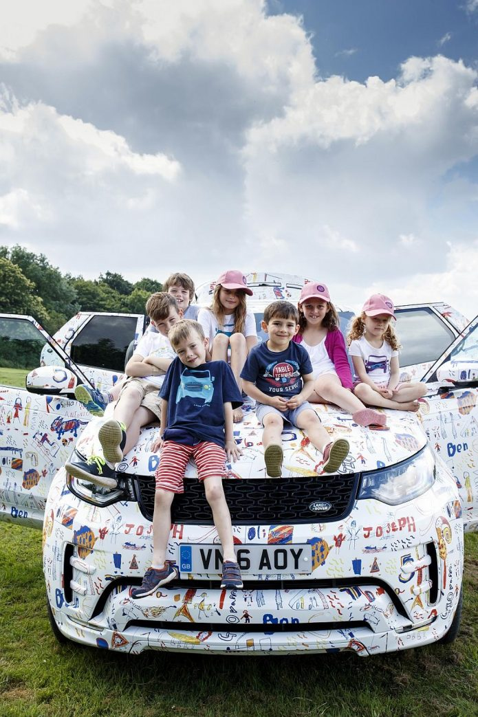 Land Rover-Geländewagen